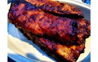 Żeberka ze Smokera BBQ Borniak